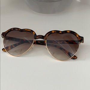 Accessories - Heart sunglasses